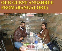 OUR GUEST FROM (BANGALORE)