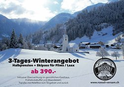 Packages angebot