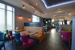 Eat, Drink & Unwind in our comfy new seating booths
