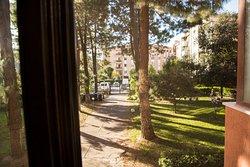 veduta dalla finestra della camera Saint Remì.