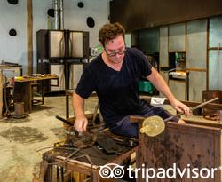 So Glasscycle, Glass & Art Studio at the Soneva Fushi