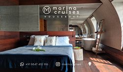 Stay overnight in the air conditioned bedroom inside the houseboat.