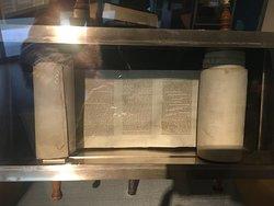 Miniature Torah scrolls, for travelers.