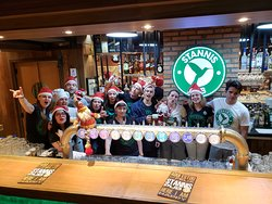 Primiro Natal no stannis Pub Blumenau