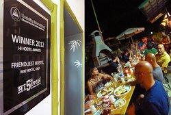 world top friendly hostel HI5 hostellinh international award :)