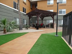 Outdoor Gazebo and Grill