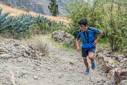 Trail Run Tarica Huaraz Atleta: Macedo Tolentino Jhon