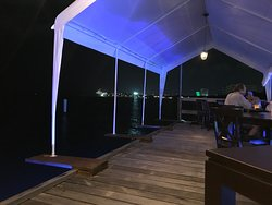 Awning is too big for the pier -