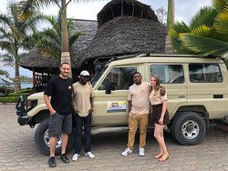 Getting ready for the game drive in Mikumi national park. More choices more natural wonders. Bookings Tanzania Safaris