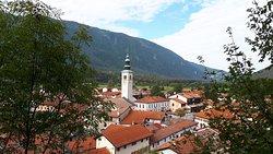 view of Kobarid town