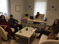 with nice guests in ARS Travel Office