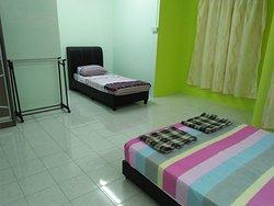Triple room is big!!
