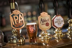 Stunning cask ales..
