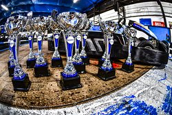 Trophies for our open race events!