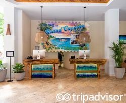 Lobby at the Margaritaville Beach Resort Grand Cayman