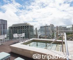 Pool at the Pools at the Hokulani Waikiki by Hilton Grand Vacations