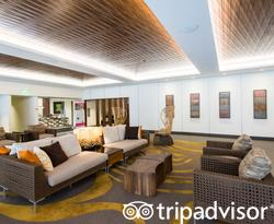 Lobby at the Hokulani Waikiki by Hilton Grand Vacations