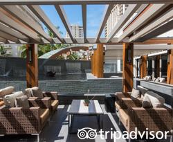 Grounds at the Hokulani Waikiki by Hilton Grand Vacations