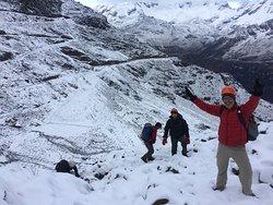 Climbing Mateo Mountain