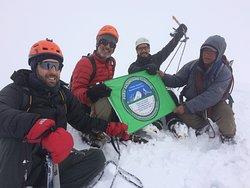 Summit Mateo Mountain