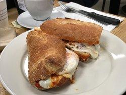 Eggplant parm sandwich (DiPasquale's)