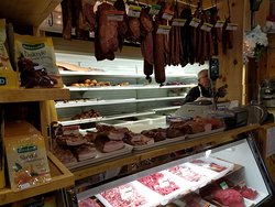 A very small part of the shop.  The kielbasa and other meat is very very good.