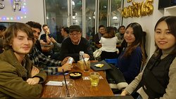 Where foreign people meet the local Korean in Language Exchange in Seoul Korea