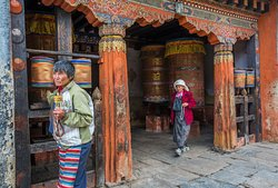 Photo from one of our cultural tours to Bhutan.