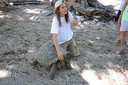 Chris & tortoise