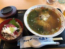 ラーメン&鉄火丼