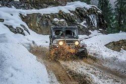 #Spiti #Snow #4x4 #Chian drive