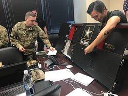 Brainy Actz x US Army