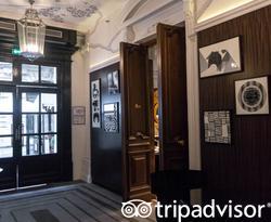 Restaurant at the Sofitel Paris Le Faubourg
