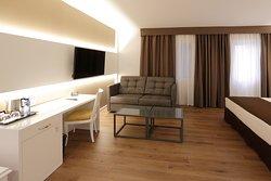 Habitación superior con sofá cama de 1,20 por 2 metros