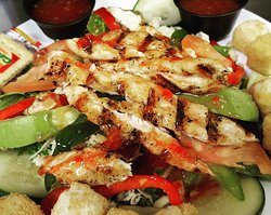 Baha chicken Salad