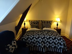Double beds in the attick