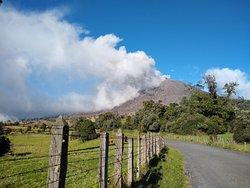 Majestuoso Volcán Turrialba