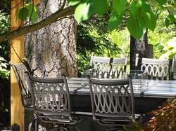 Outside Gas Dinning Table