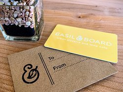 surprise someone with a gift card with a hand stamped envelope!