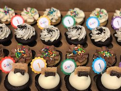 baby einstein themed mini birthday party picks