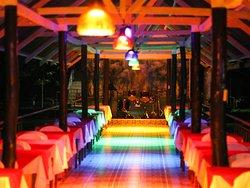 Jconfarm Restaurant by night