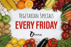 Vegetarian Friday Special