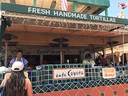 Where you get the homemade tortillas from! The tortilla ladies!