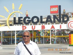In front of LegoLand