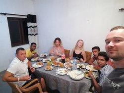 Ужин у Асинты дома