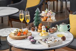Festive Offer 2018: The House on Sathorn's The Festive Afternoon Tea, available from 20 Dec 2018 - 2 Jan 2019. From THB 1,650++/set inclusive of 2 pots of TWG tea.