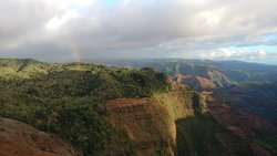 Seems God always loved to top off His creation with a rainbow wherever you go in Kauai!  So beautiful!