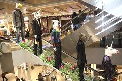 décorations coté Escalators