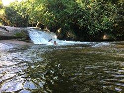 Cachoeira do Tobogã, em Paraty.