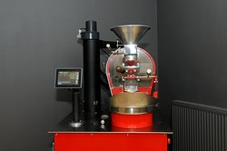 """Meet """"Big June"""" our specialist in house roaster."""